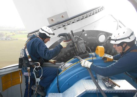 [] wind turbine maintenance eolienne