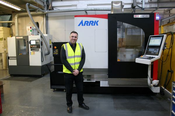 Demand for Carbon sees ARRK invest in two new CNC machines at its Composites Centre in Nuneaton