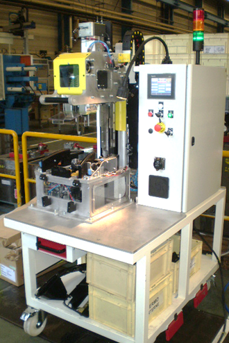 [] Process development punching machine