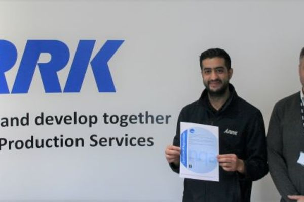 ARRK's Injection Moulding Centre in Kings Norton celebrates double certification