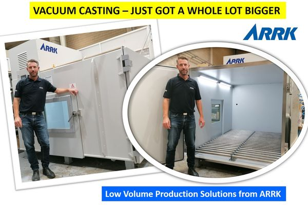 Taking large vacuum castings parts to the next level
