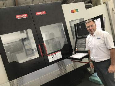 ARRK's Composites Centre in Nuneaton invest in new CNC machine and kit cutting table